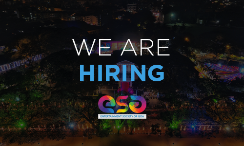 We are hiring..! Be a part of the 52nd IFFI Goa. Applications invited..